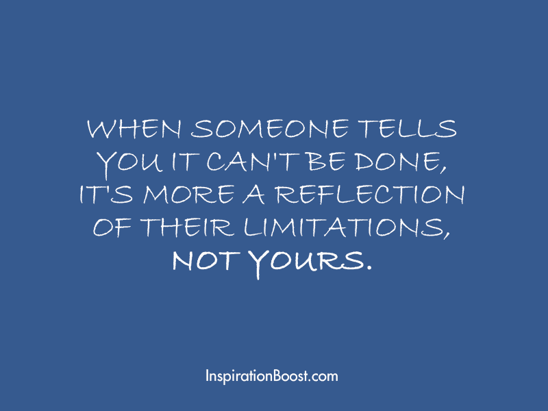 Limitation of People Quotes