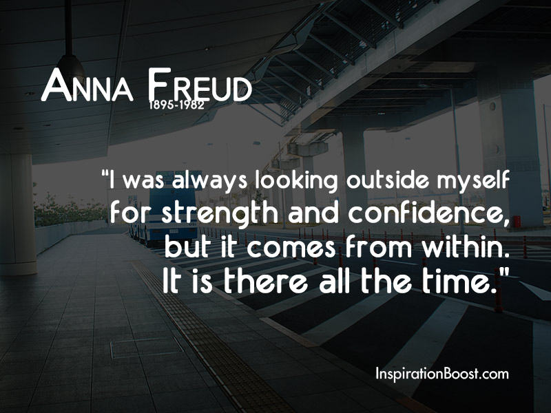 Anna Freud Famous Quotes