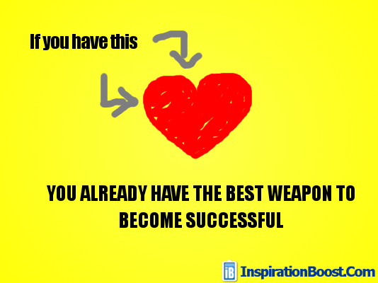 Best Weapon To Become Success Inspiration Boost