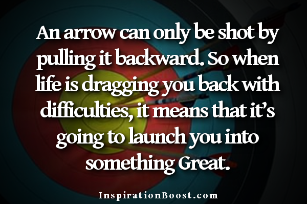 Quotes About Arrow Inspiration Boost
