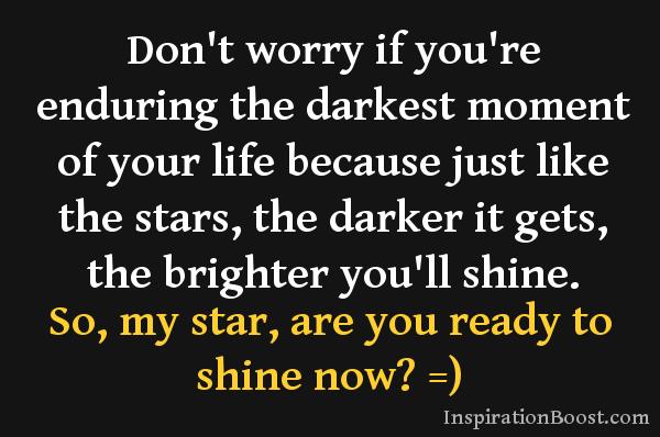 Shine Like A Star Inspiration Boost