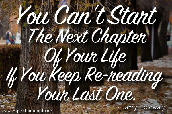 The Next Chapter Of Your Life Inspiration Boost