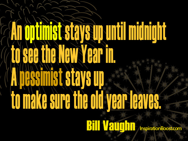 bill vaughn new year quotes