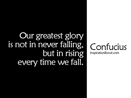 Confucius Fall Quotes Inspiration Boost