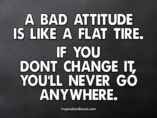 Attitude Quotes Inspiration Boost
