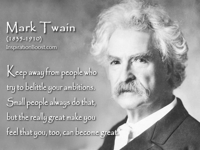 Mark Twain Great Quotes | Inspiration Boost