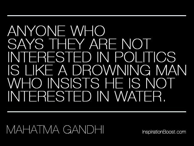 Mahatma Gandhi Political Quotes Inspiration Boost Delectable Political Quotes