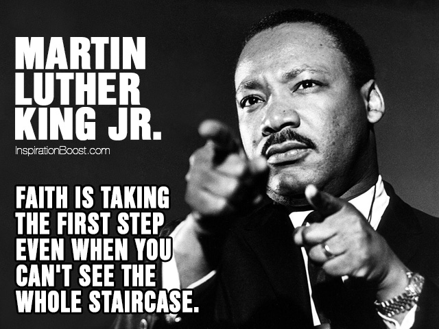 Martin Luther King Jr Faith Quotes Inspiration Boost
