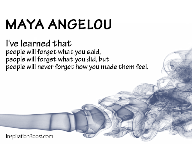 Memory Quotes - Maya Angelou | Inspiration Boost