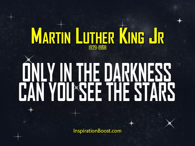 Martin Luther King Jr Star Quotes Inspiration Boost