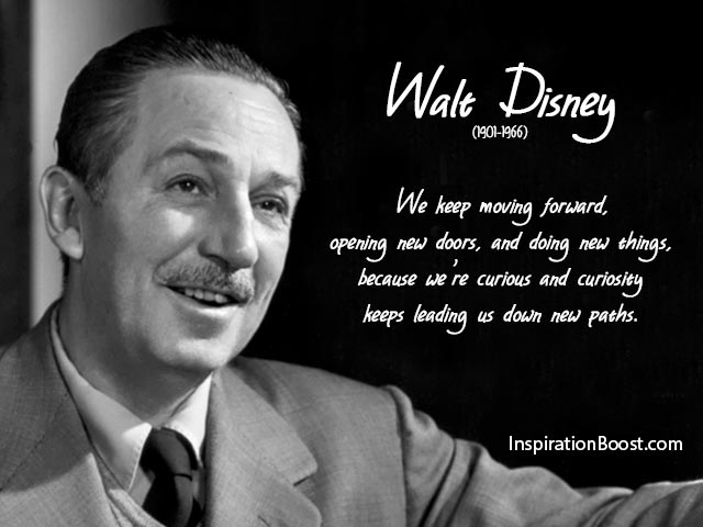 Inspiring Keep Moving Forward Quotes Pictures: Walt Disney Moving Forward Quotes