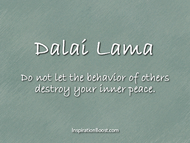Dalai Lama Peace Quotes Inspiration Boost