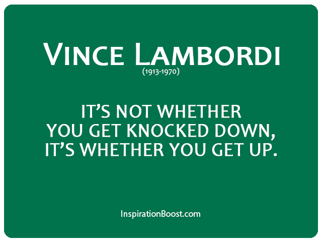 Vince Lombardi Never Give Up Quotes Inspiration Boost New Quotes Of Never Giving Up