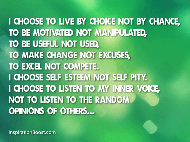 Choices Of Life Quotes Inspiration Boost