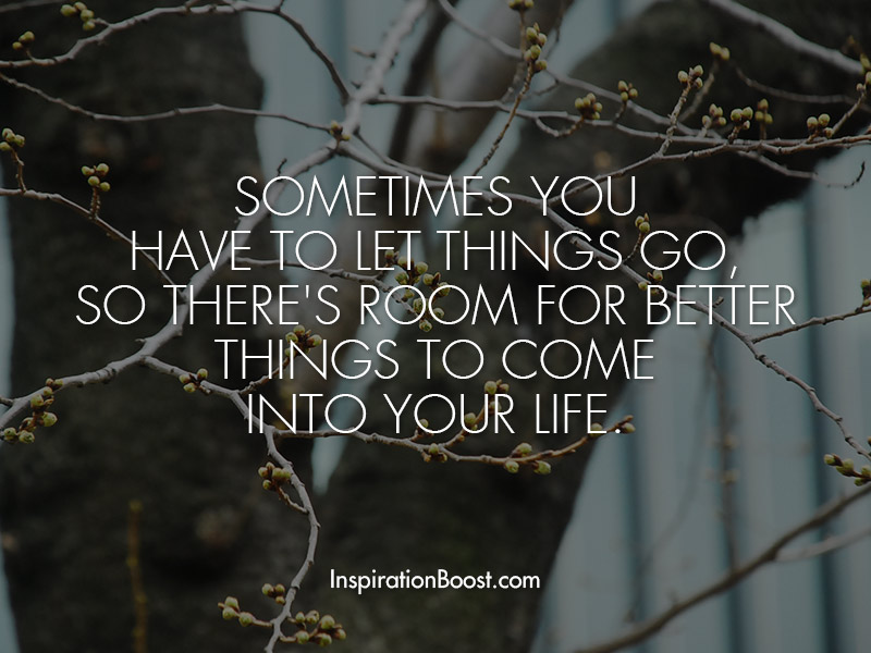 Let Go Quote Inspiration Boost