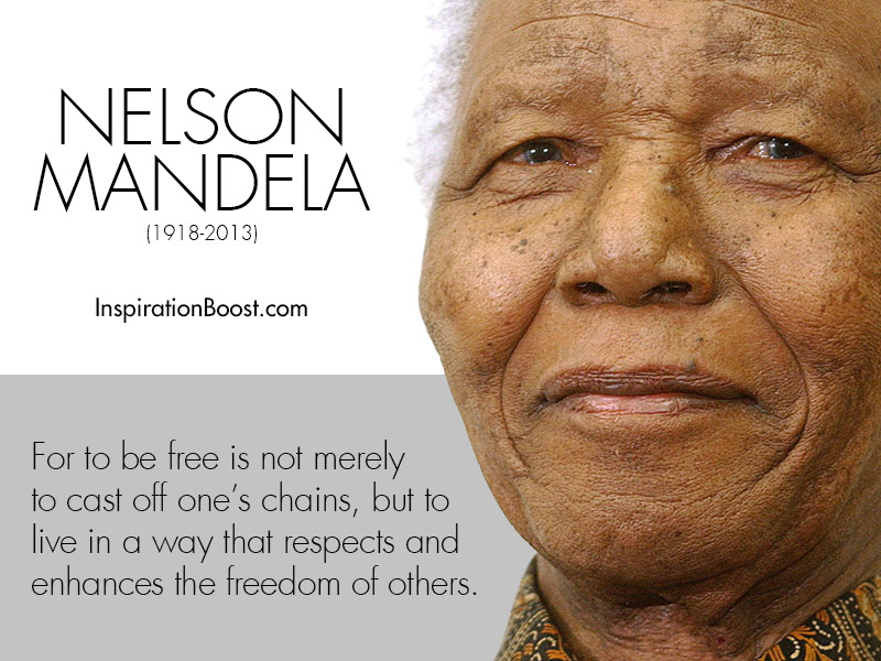 Nelson Mandela Quotes Of Freedom Inspiration Boost